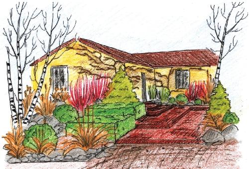 Zahrada Krasna Nejen V Sezone Ale I V Zime Flora Na Zahrade