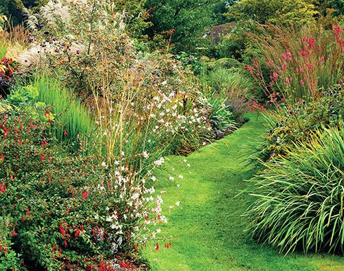 Tato zahrada je bezesporu blízká přírodě a ideální pro život rozmanitých organismů.