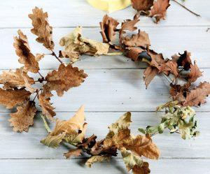 Listy můžete použít ze stálezelených dřevin