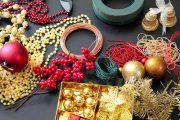 Ve floristických potřebách seženete na výrobu věnce vše potřebné včetně korpusu a ozdob.