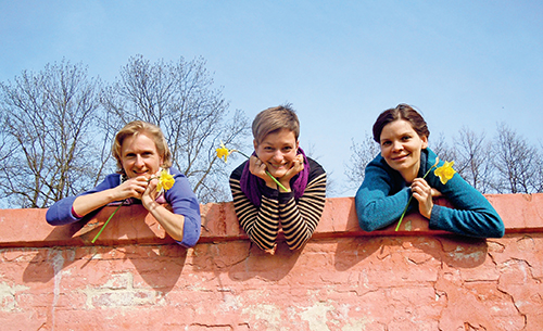 Iveta, Míla a Marie