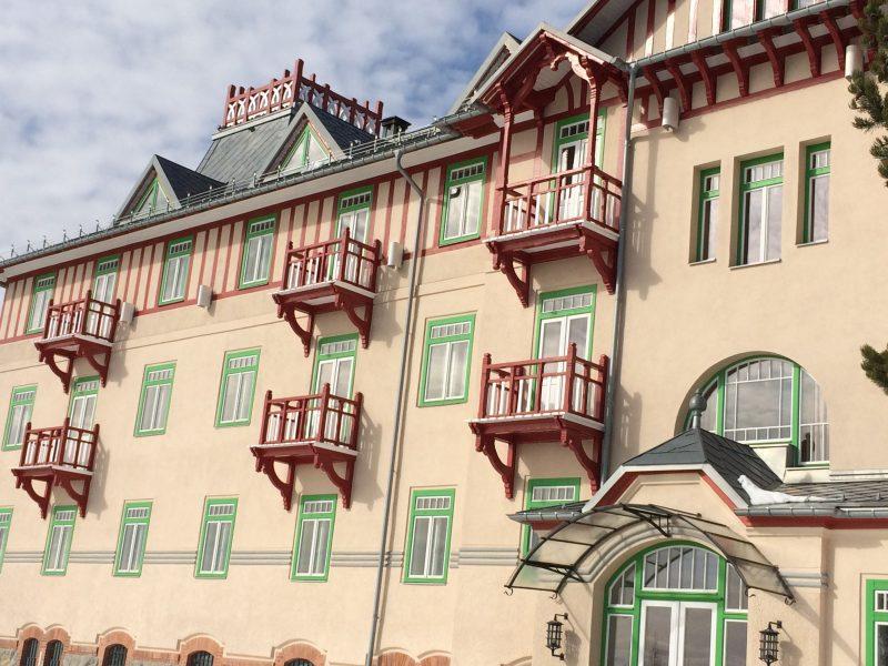 Grand hotel Kempinski na Štrbskom plese vo Vysokých Tatrách 5.
