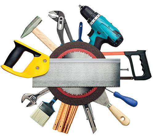 Dobře vybavenou domácí dílnu využijí k drobným i větším opravám muži i ženy.