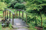 Dolní část zahrady svojí podstatou spíš připomíná přírodně krajinářský park.