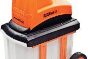Lehce ovladatelný štěpkovač Powersilent 2600 zpracuje větve o průměru až 40 milimetrů.