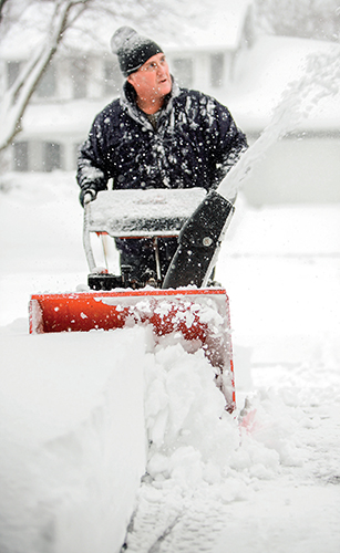 Zimní krajina vypadá pod bělostnou duchnou krásně.
