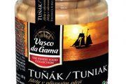 Tuňák v atraktivním skleněném obalu o hmotnosti 115 g potěší milovníky luxusních tabulí
