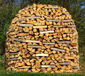 Pro správnou výhřevnost dřeva do kamen či do krbu je rozhodující jeho vlhkost.