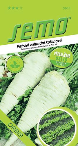Společnost SEMO, a. s., připravila pro zahrádkáře osivo předklíčené petržele 'Orbis'