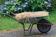 I v době vyspělé techniky se při práci na zahradě spoléháme na zahradní kolečko.