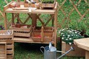 Jedním z nejdůležitějších a přitom stále opomíjených míst na zahradě je prostor pro drobnou práci.