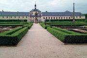 Letos se do víkendu zapojila i nově zrekonstruovaná bylinková zahrada Hospitalu Kuks.