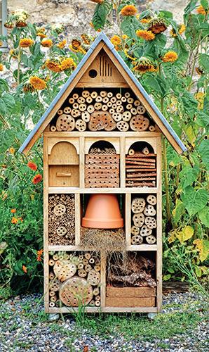 Domek pro různé druhy hmyzu