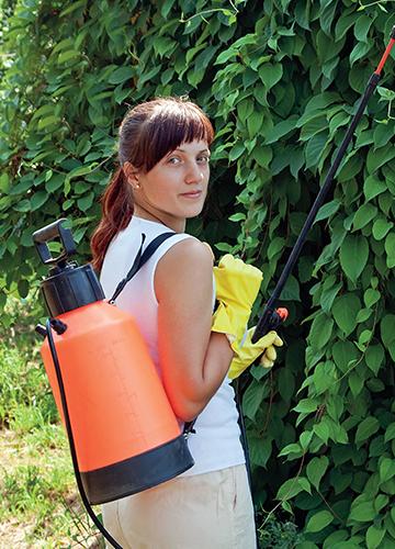 Postřikovače pro herbicidy by měly být zřetelně označené.