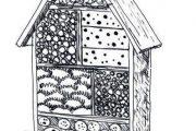 Usnadněte hmyzu přezimování a připravte mu hmyzí hotel.