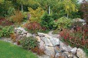 Do zahrady zídku nejlépe začleníte osázením stěn, koruny i tvorbou záhonu u paty stavby.