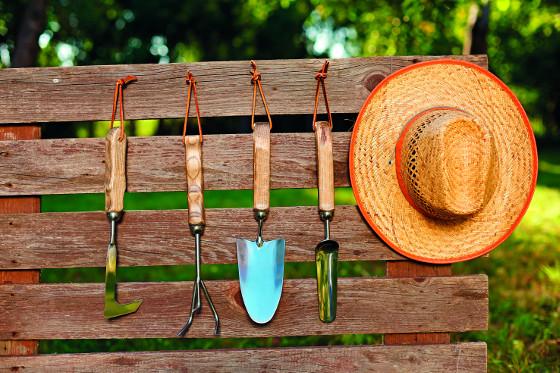 Základní zahradnické náčiní potřebujete, i když se staráte pouze o malý pozemek.